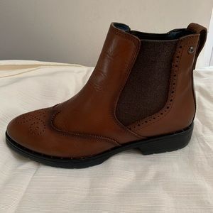 Pikolinos Caravaca size 38 brown leather boots